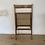 Thumbnail: Chaise vintage cannée pliante - 2 disponibles
