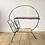 Thumbnail: Table porte-revue vintage métal