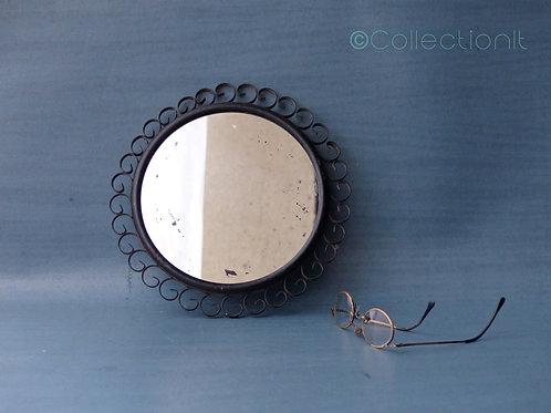 miroir vintage en fer
