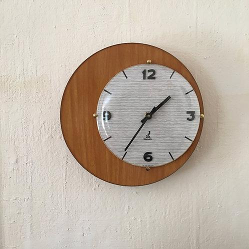 Horloge mural vintage ronde formica