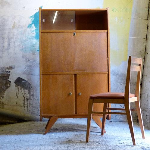 Secrétaire vintage en chêne