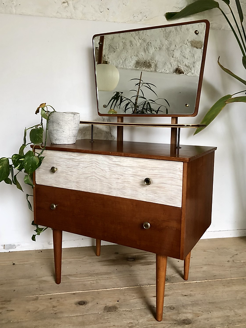 Commode coiffeuse vintage