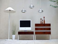 commode meuble tv palissandre scandinave 1