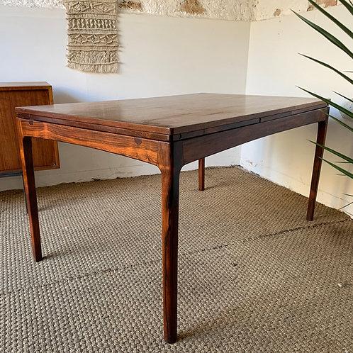 Table scandinave palissandre de Rio vintage Bordum & Nielsen
