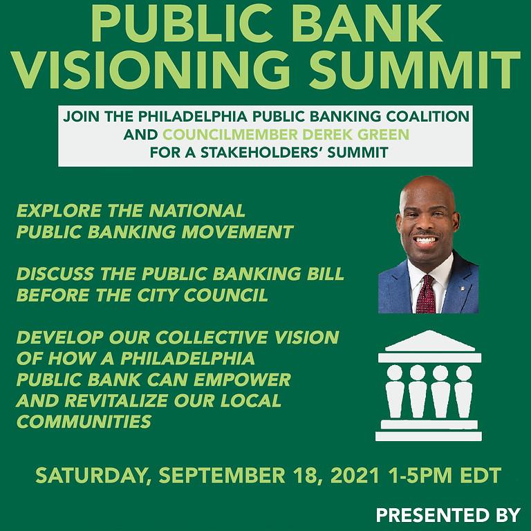 Public Banking Visioning Summit