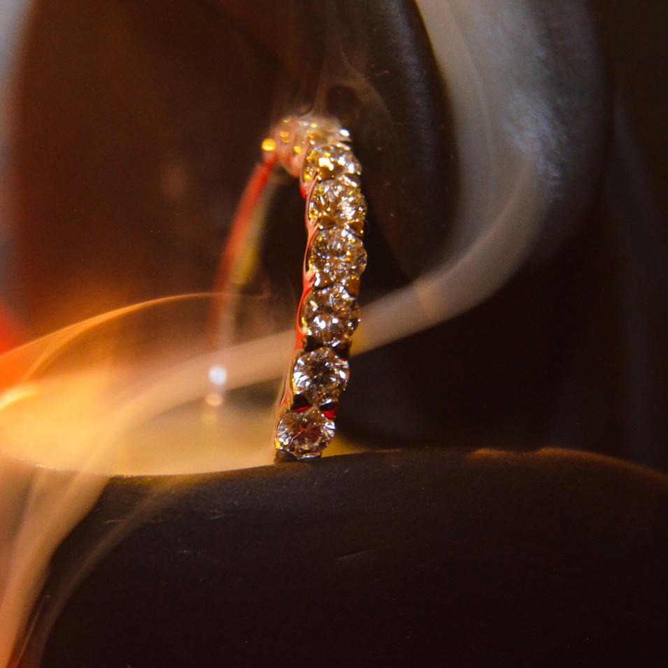 Heart-shaped Diamond Ring