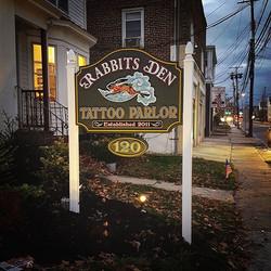 New shop sign #storefront #tattoostudio