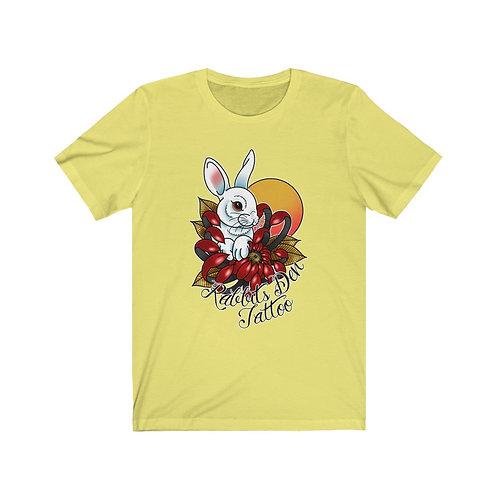 Mum Rabbit by Daemeon on Unisex Jersey Short Sleeve Tee