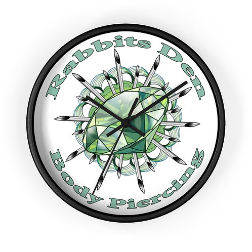 Piercing Gem design by Christy & Janie on a wall clock