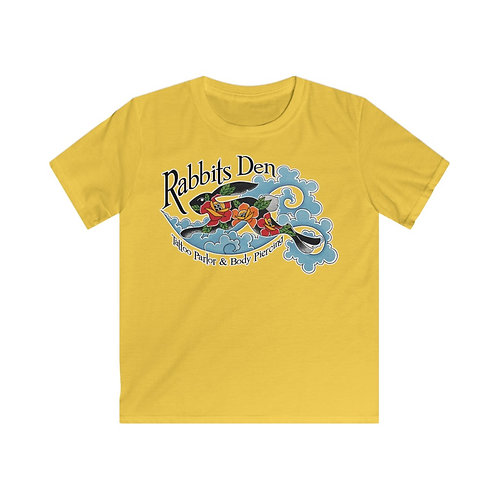 Jumping Rabbit on big kids tee