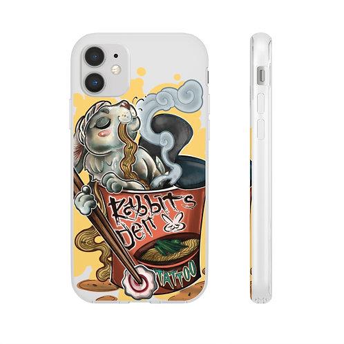 Ramen Rabbit design by Cassandra iPhone and Galaxy Flexi Cases