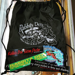 Check out the new bags and stickers!