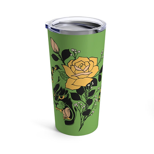 Panther Rose by Tom tumbler 20oz