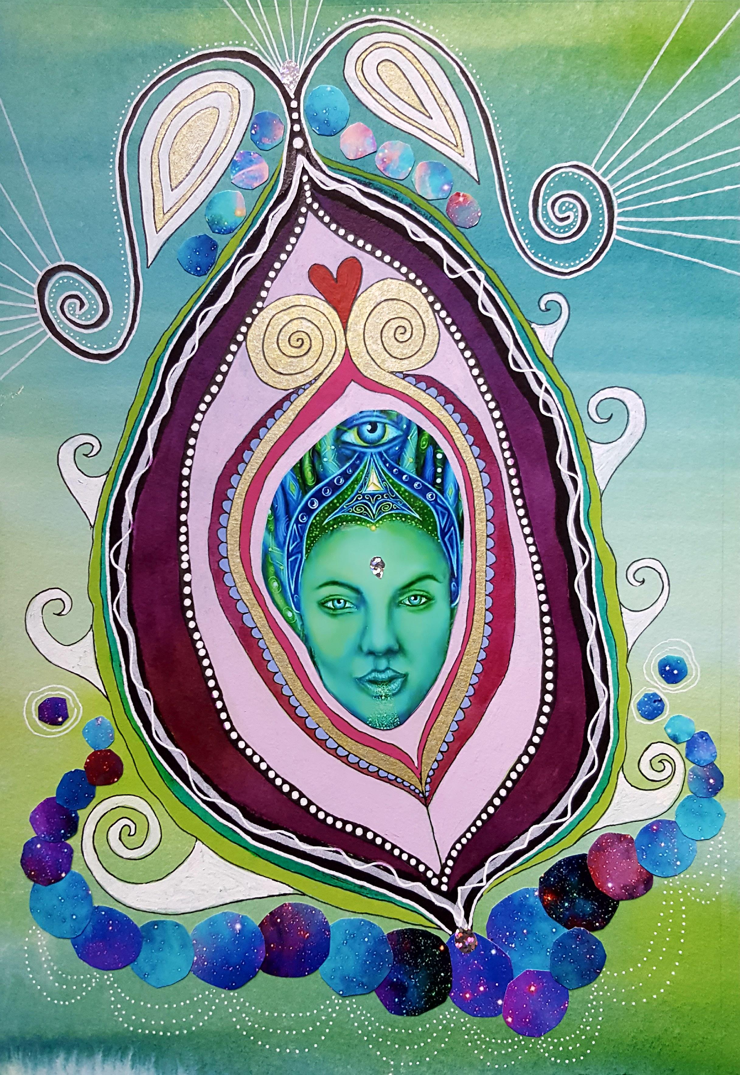 Yoni Green goddess