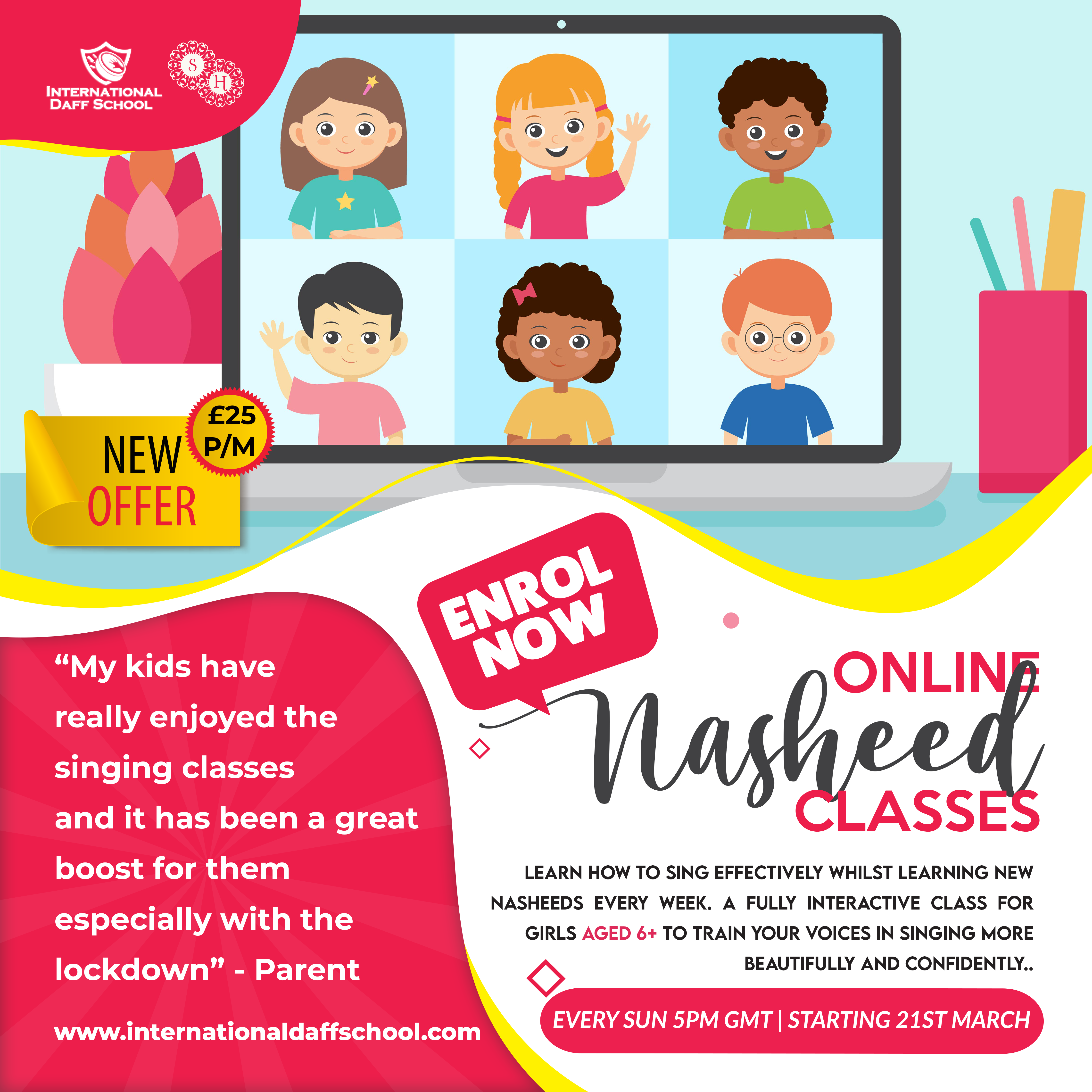 Children's Nasheed Classes