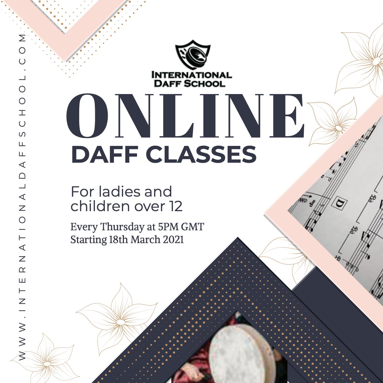 Ladies Beginners Daff Course