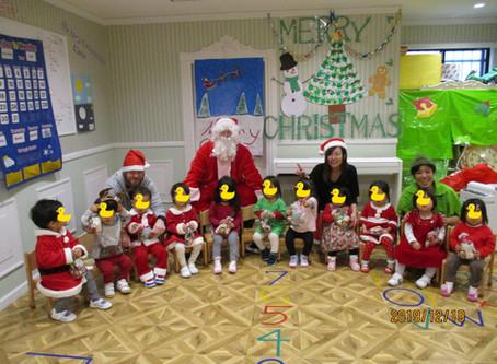 Santa Claus is coming!!