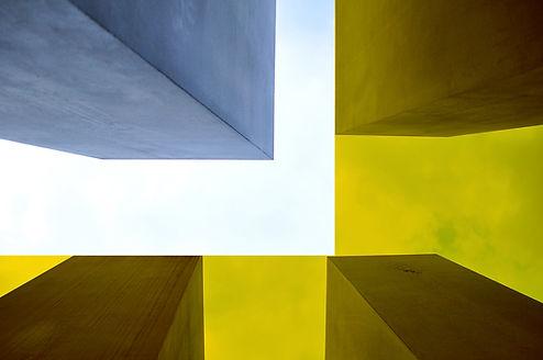 Filtered Concrete Building