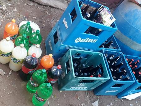 Operativo de Comercio y policía desbarató venta ilegal de bebidas alcohólicas