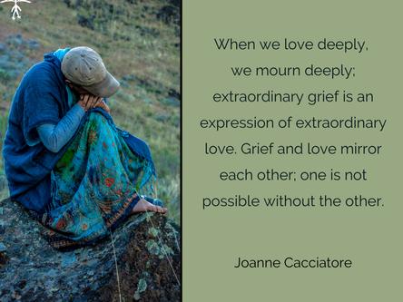 Liebe und Trauer - zwei Seiten einer Medaille