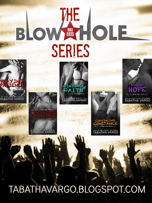 The Entire Blow Hole Series Signed Paperbacks + Shipping