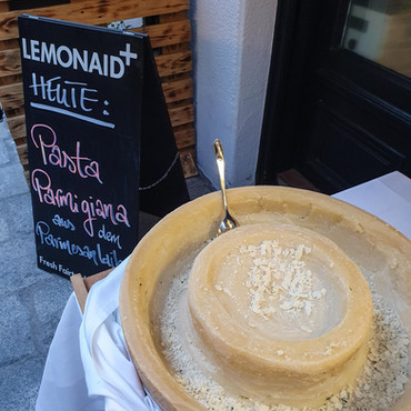 Pasta alla Parmigiano im Philigrano, Wien