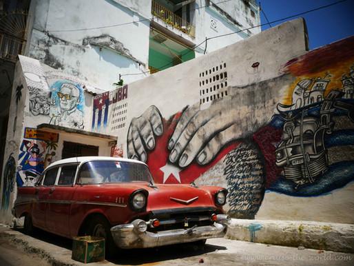 """Von Cuba bis nach Belize, Honduras & Mexiko und retour nach """"la habana""""."""