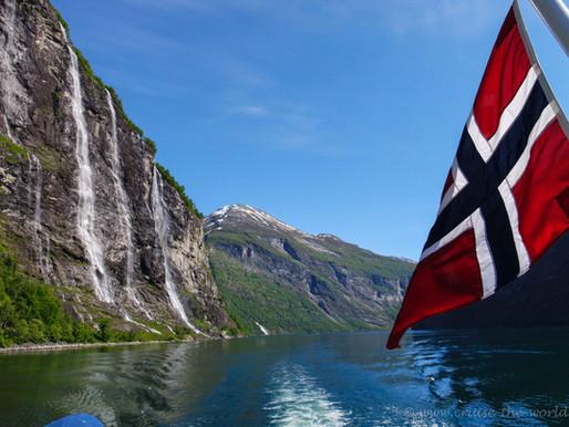 Norwegen mit der MSC Splendida von Hamburg zum Nordkapp