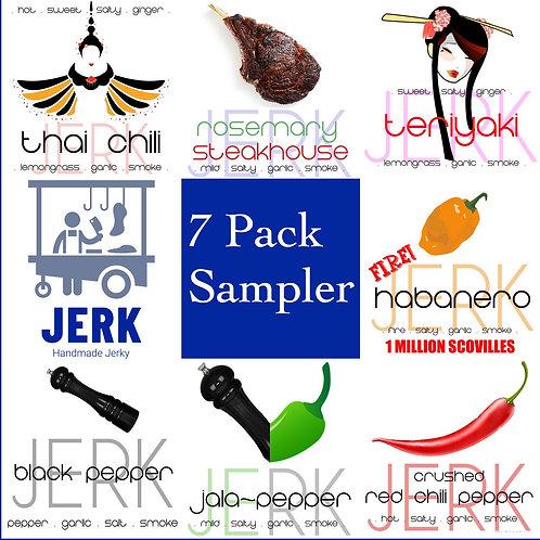 7 Pack Sampler