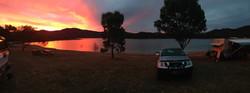 Howqua Valley Resort Sunset