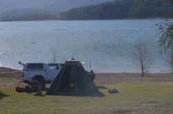 Boat Ramp Camp View