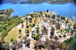 Howqua Valley Resort Arial Shot