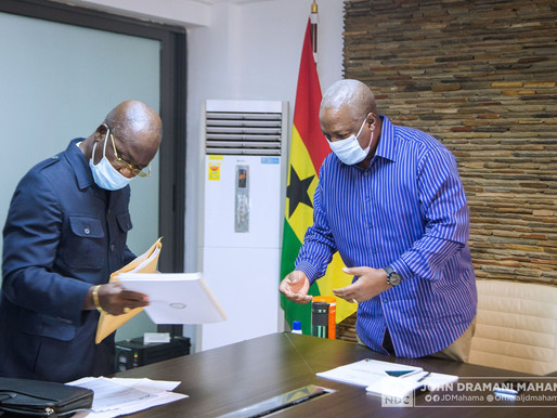 NDC Manifesto Draft  Completed, Handed Over to John Mahama