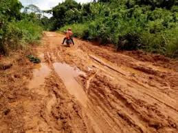 Bad roads affect economic activities at Dobazie in Wa West