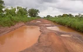 Residents of Samanbo Angry Over Their Poor Roads