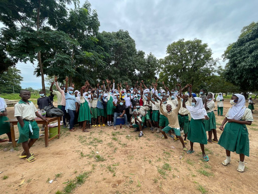 Ghana Red Cross, 3 others organize school outreach in Wa