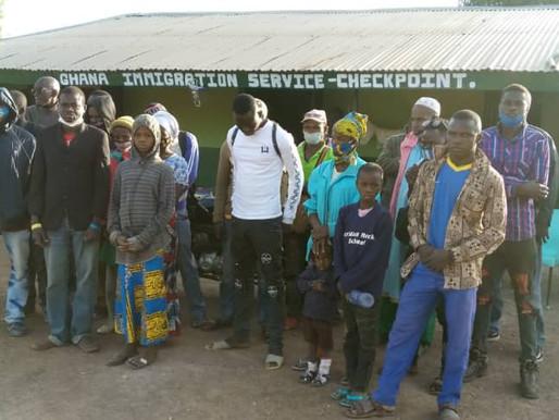 GIS nabbed 20 irregular ECOWAS migrants