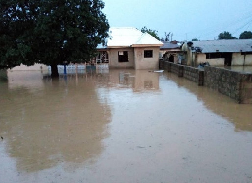 Wa Flooded After Heavy Downpour