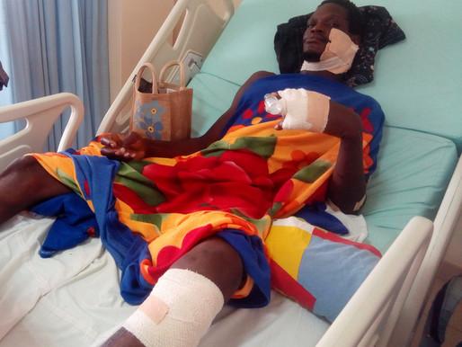 Farmer butchered by Fulani herdsman at Goli on admission at hospital