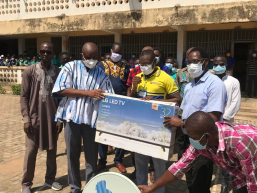 WASEC Alumni donates to school after qualifying to next stage of NSMQ