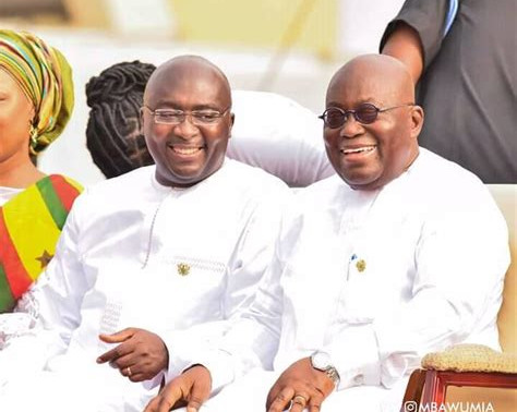 President Akufo Addo Announces Dr. Bawumia as his 2020 Running Mate
