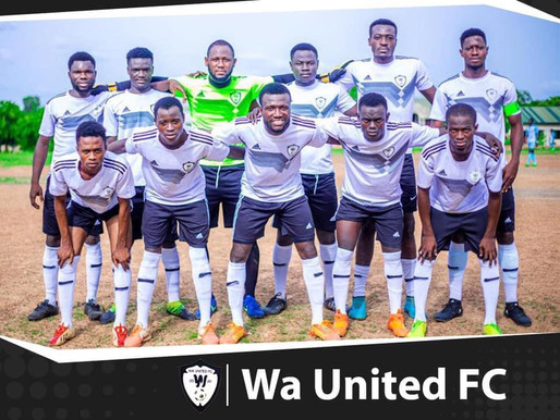 Wa united emerged victorious over Simple Winner by  1-0.