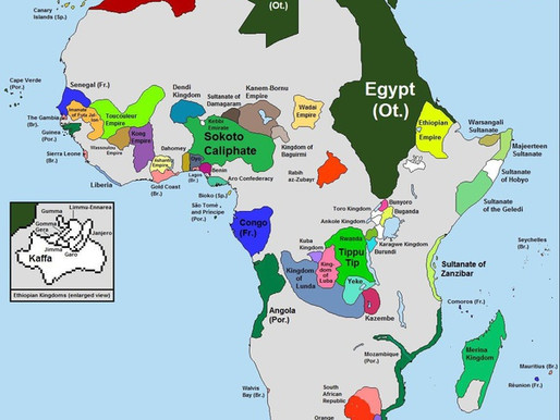 How would Africa be if it wasn't colonized in the late 1800s?