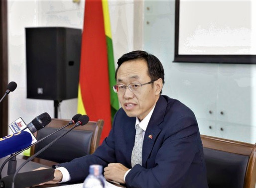 China Supports Ghana with Protective Health Gears to Help Fight COVID-19
