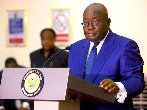 Ghana's President to Speak to the Nation on Fight Against Covid-19