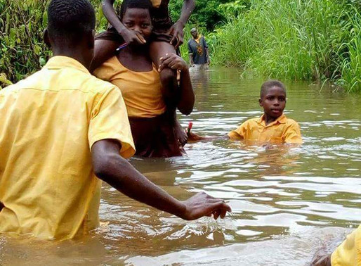 Pupils of Buritenge have to Swim Across a River Before Accession School