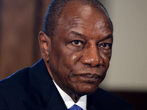 Guinea President Conde hints at third term bid despite protests