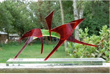MARIE ACKERS SCULPTURE.