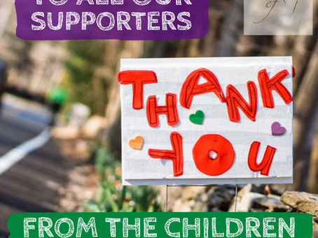 We will posting all our fabulous Sponsors and Supporters who help by donating wonderful prizes.