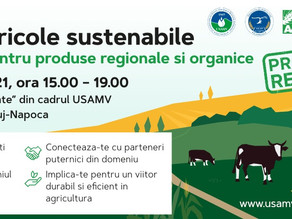 Workshop: Modele agricole sustenabile | 4 oct. 2021